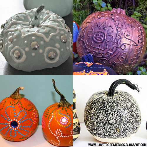 Tiny Pumpkin Painting Ideas