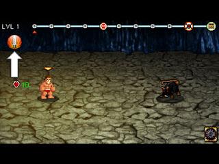 Soda Dungeon 戦闘画面