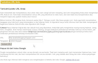 Cara Menambahkan Blog ke Google