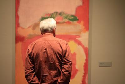 Rothko: Portland Art Museum - People Looking at Rothko