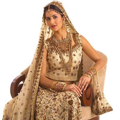 Bollywood World Katrina Kaif In Wedding Dress