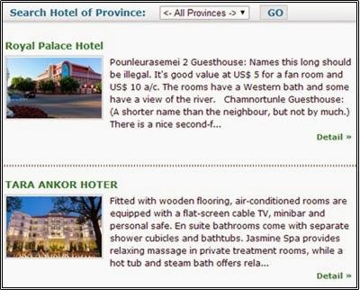 Cambodia Muslim Holiday & Travel, kemboja, hotel di kemboja