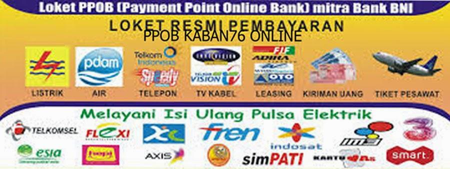 PPOB KABAN76 ONLINE