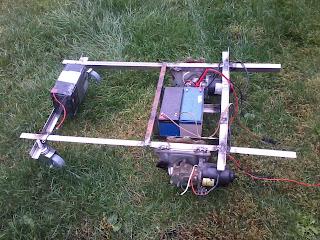 diy cutflower 2 0 tondeuse robot par arduino cr ation du chassis de cutflower 2 0. Black Bedroom Furniture Sets. Home Design Ideas