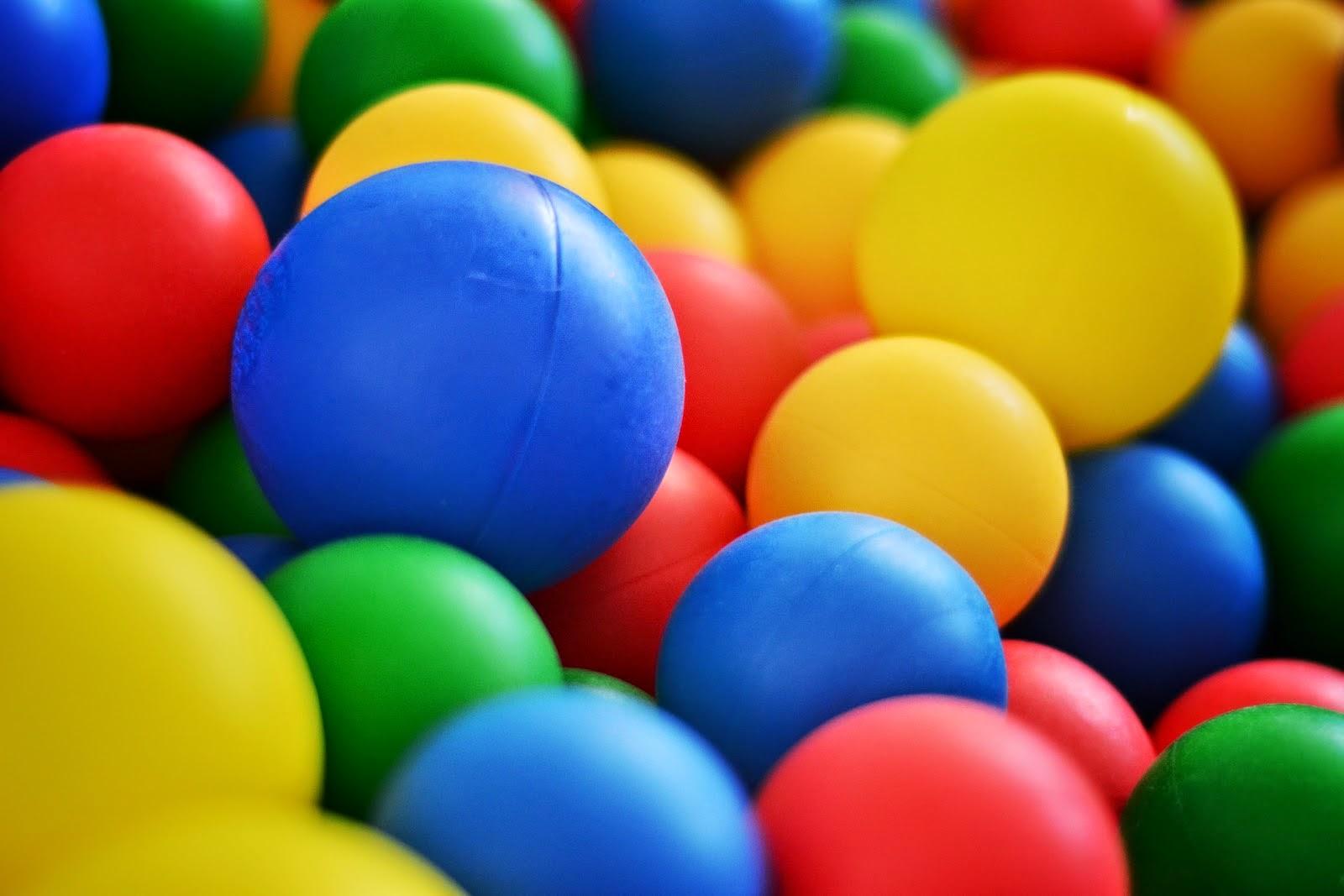 خلفية مدهشة بالونات ملونة رائعة