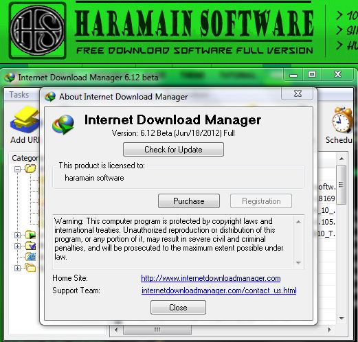 Download Internet Download Manager ( IDM ) 6.12 Beta Full Version
