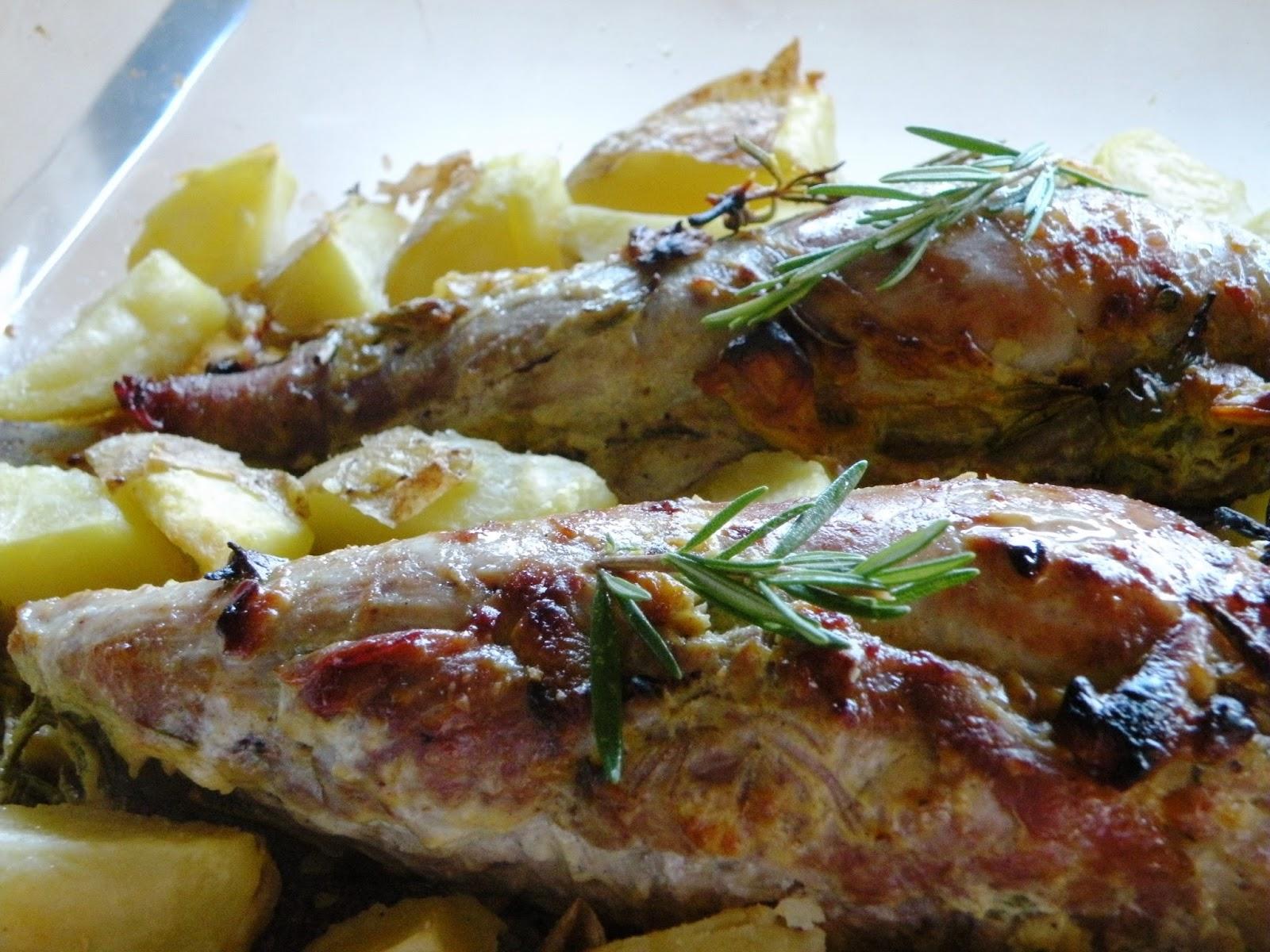 Mis pinitos de cocina solomillo de cerdo al horno - Solomillo de ternera al horno facil ...