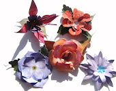 My handcrafted paper flowers