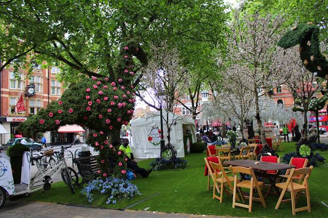 Chelsea Flower Show. Londres. Sloane Square