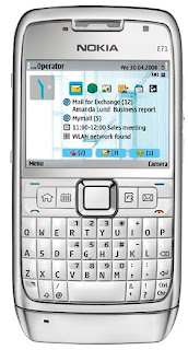 Nokia E71 for Browsing