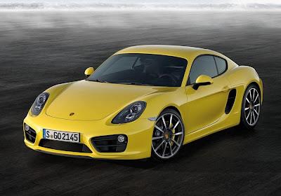 Porsche Cayman S (2013) Front Side