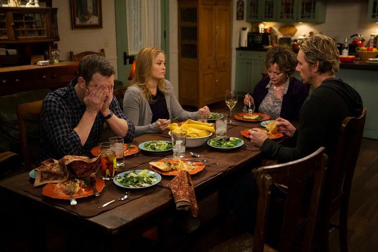 Los hermanos Braverman cenan en casa de Zeek y Camille