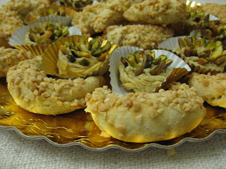 gateau oriental pistaches baklawa