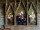 Retaule gòtic a Sant Llorenç del Munt