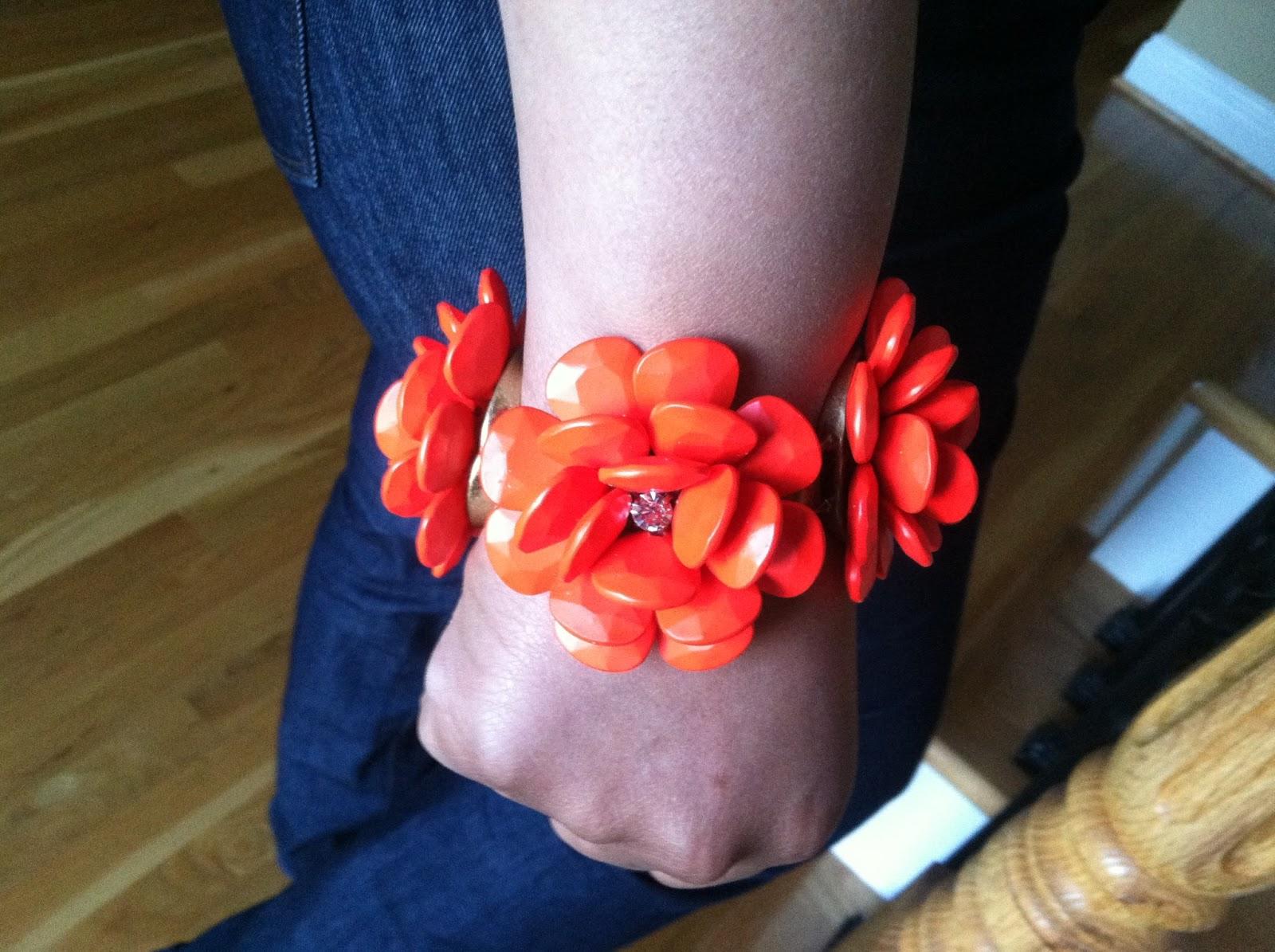 Jcrew rose necklace | Etsy