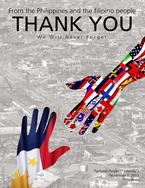 Thank You from the Filipino people