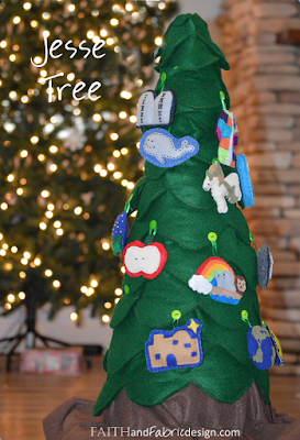 http://faithandfabricdesign.com/2013/05/activity-making-jesse-tree-for-advent.html