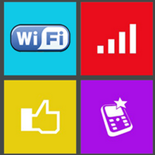 Phone Tile WIndows Phone app