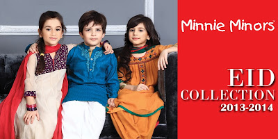 Minnie Minors Eid Collection 2013-2014