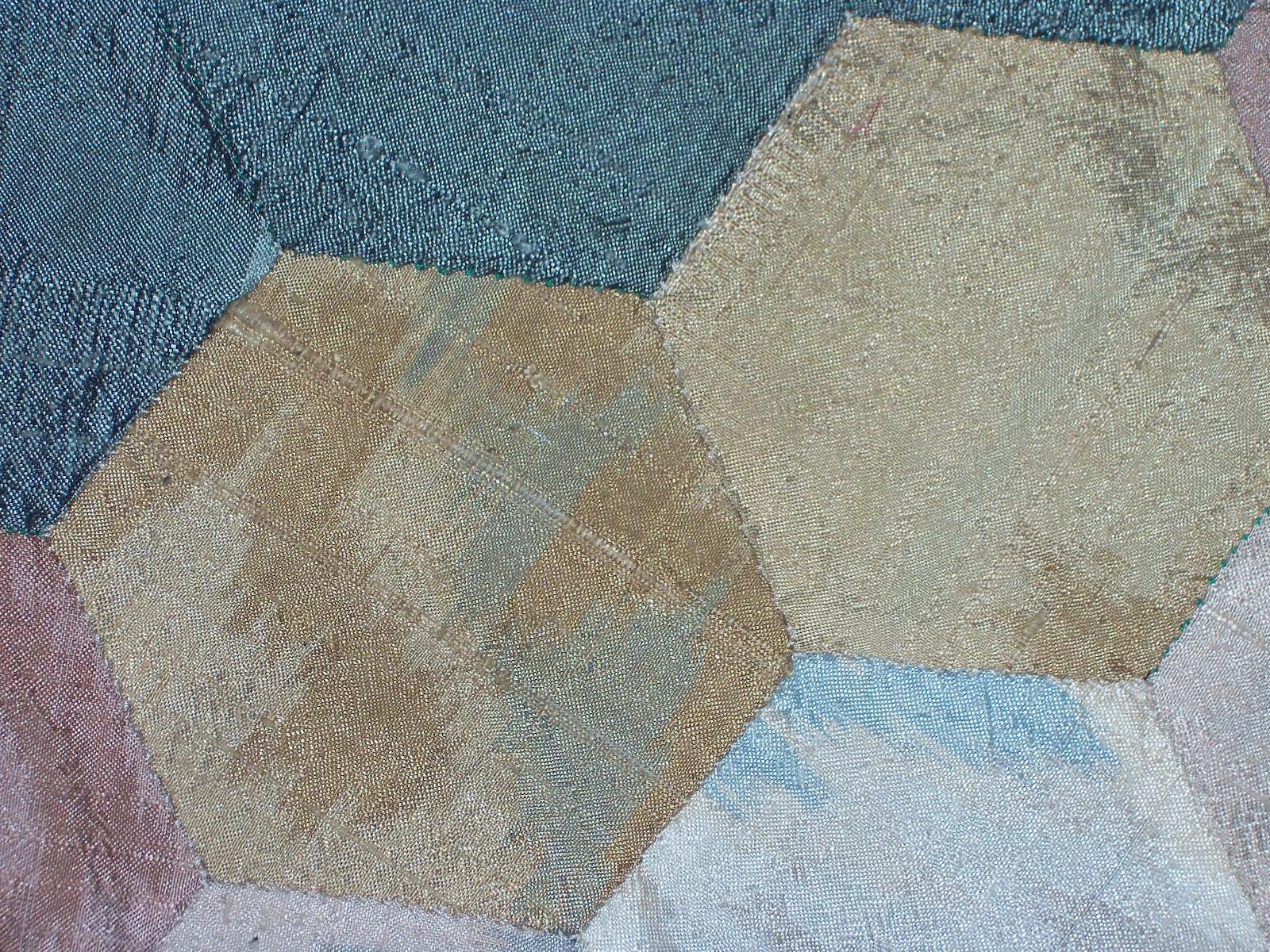 Quilting en temuco primer trabajo de patchwork a mano - Tecnicas de patchwork a mano ...