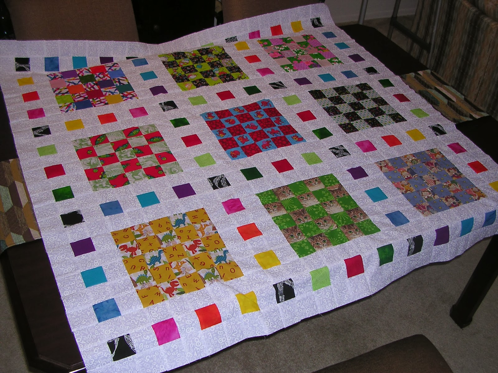 The Quilted Librarian New Scrap Quilt Thanks To Pinterest