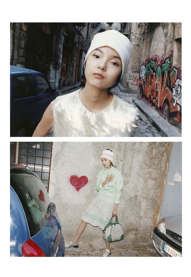 ASIAN MODELS BLOG: AD CAMPAIGN: Xiao Wen Ju for Marc ...
