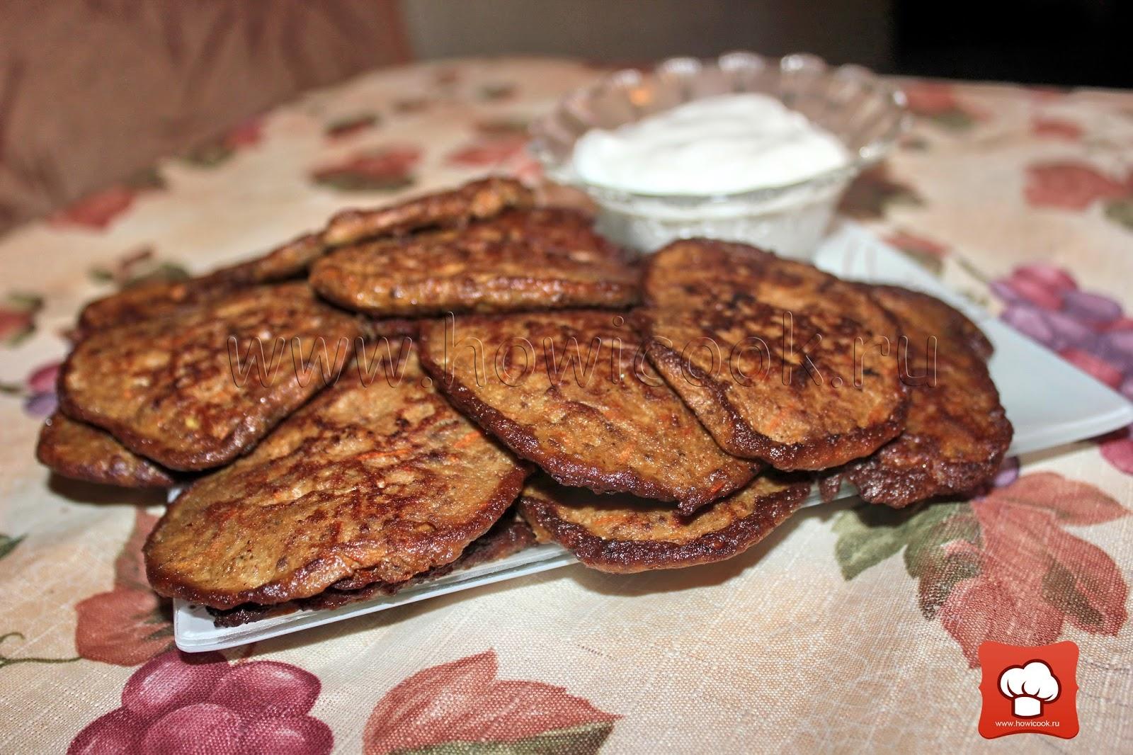 Торт печеночный, рецепты с фото на 3