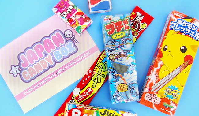 giveaway, review, japan candy box