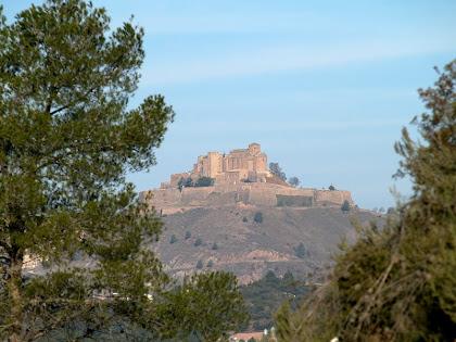 El Castell de Cardona des del Llobet