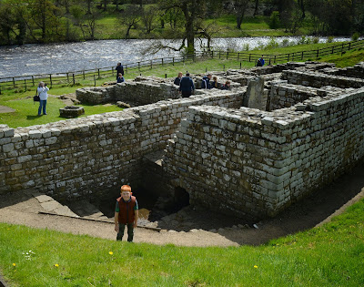 Roman bathhouse at Chesters Roman Fort, Hadrians Wall
