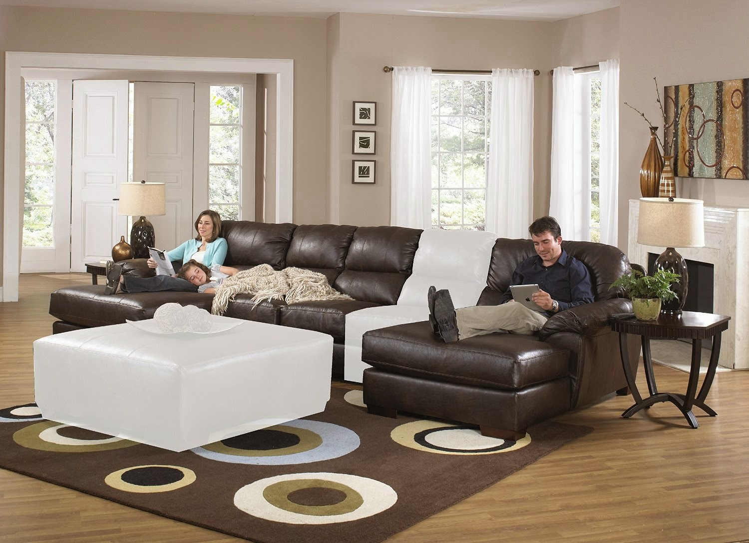 The Best Sectional Sleeper Sofa Reviews: Leather Sectional Sleeper Sofa  With Chaise