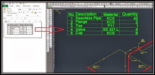 Excel Range To AutoCAD Table Add-In