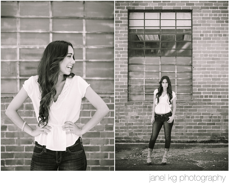 Sacramento senior portraits... Love the urban feel!