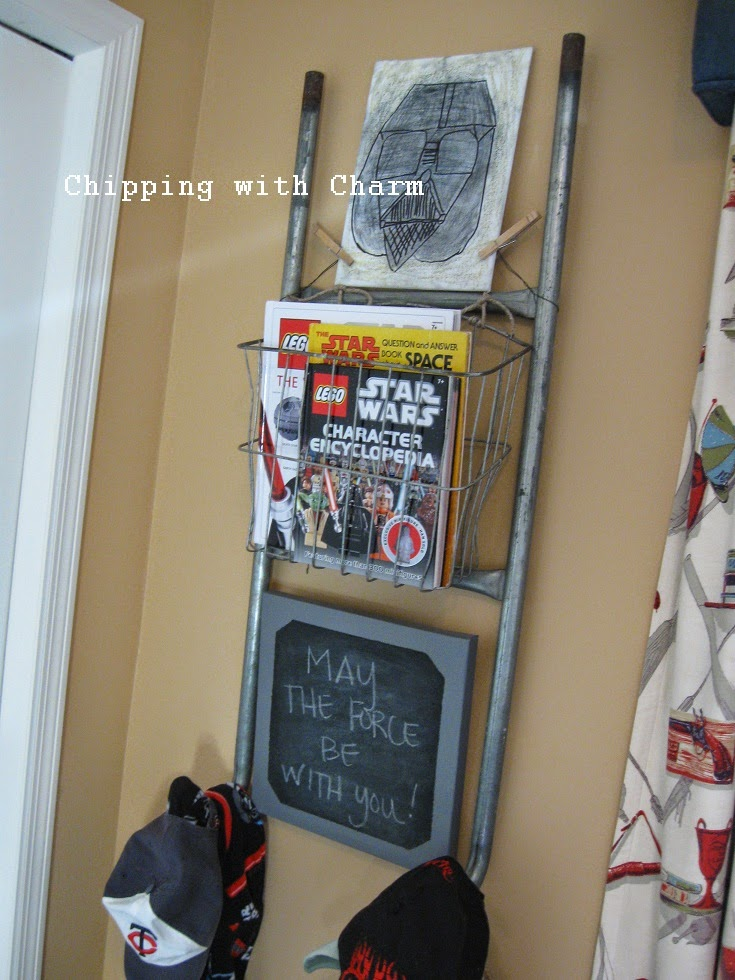 Chipping with Charm: Ladder Love, Chipping with Charm on Hometalk...http://www.chippingwithcharm.blogspot.com/