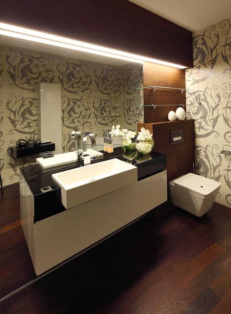 Ванная комната в ЖК Кутузовская Ривьера