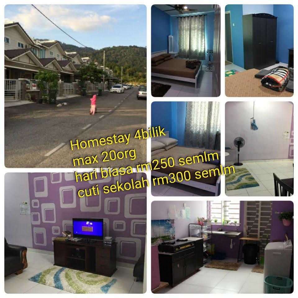 Homestay Langkawi 4bilik (max 20 org)