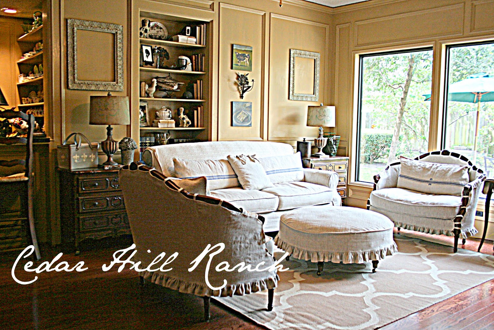 adding white to a room cedar hill farmhouse