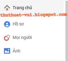 Trang chủ Google Plus, G+
