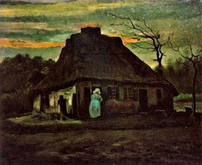 Cabanya de palla al capvespre (Vincent Van Gogh)