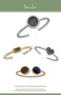 Imprint On My Heart Fingerprint Jewelry Bracelets