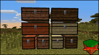 WoodStuff mod chests