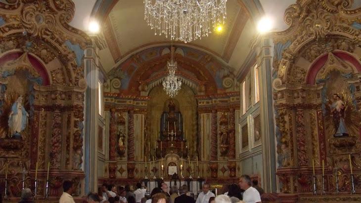capela mor e altares colaterais ao arco-cruzeiro