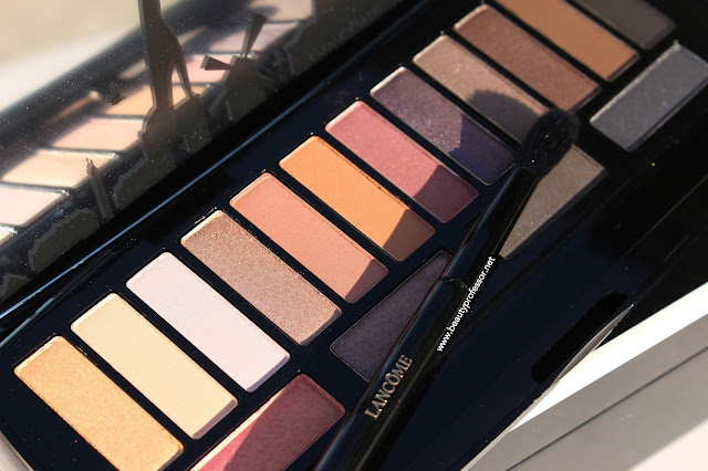 lancome audacity palette swatches