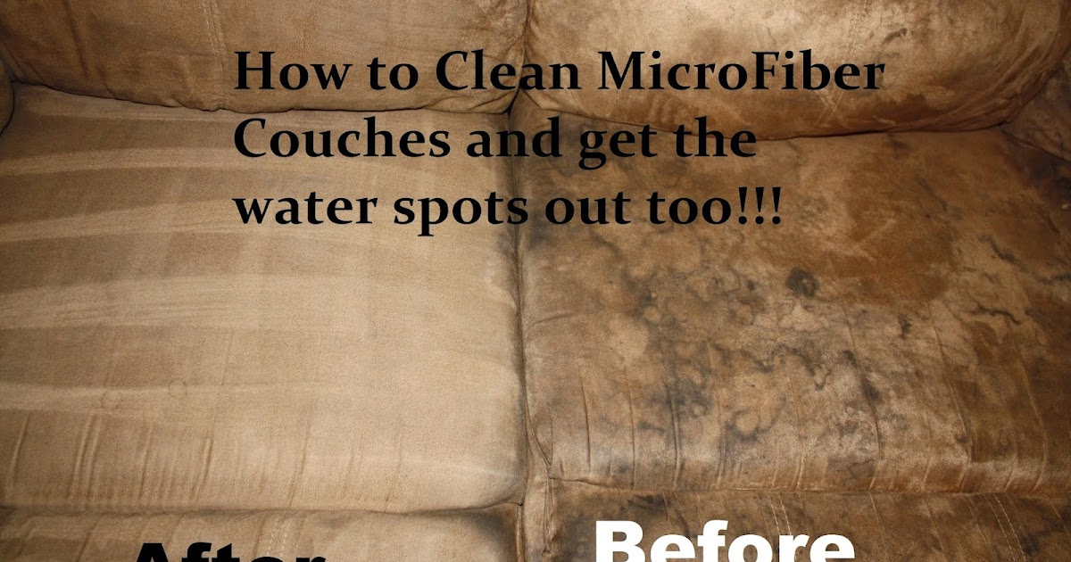 Tadau0027s Kooky Kitchen: How To: Clean Microfiber Couches AND Get The Water  Spots Out Too!!