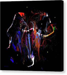 ABSTRACT 1001 Canvas Print