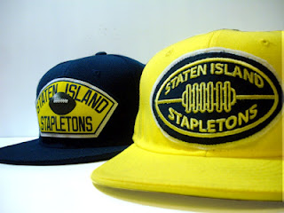 Staten Island Stapletons Custom Fitted Caps