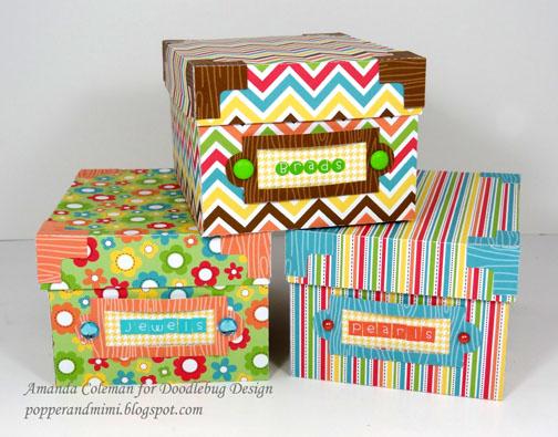 paper+storage+boxes+Amanda+Coleman+Doodlebug.jpg  sc 1 st  Doodlebug blog & Doodlebug Design Inc Blog: Storage Box Organization for Spring