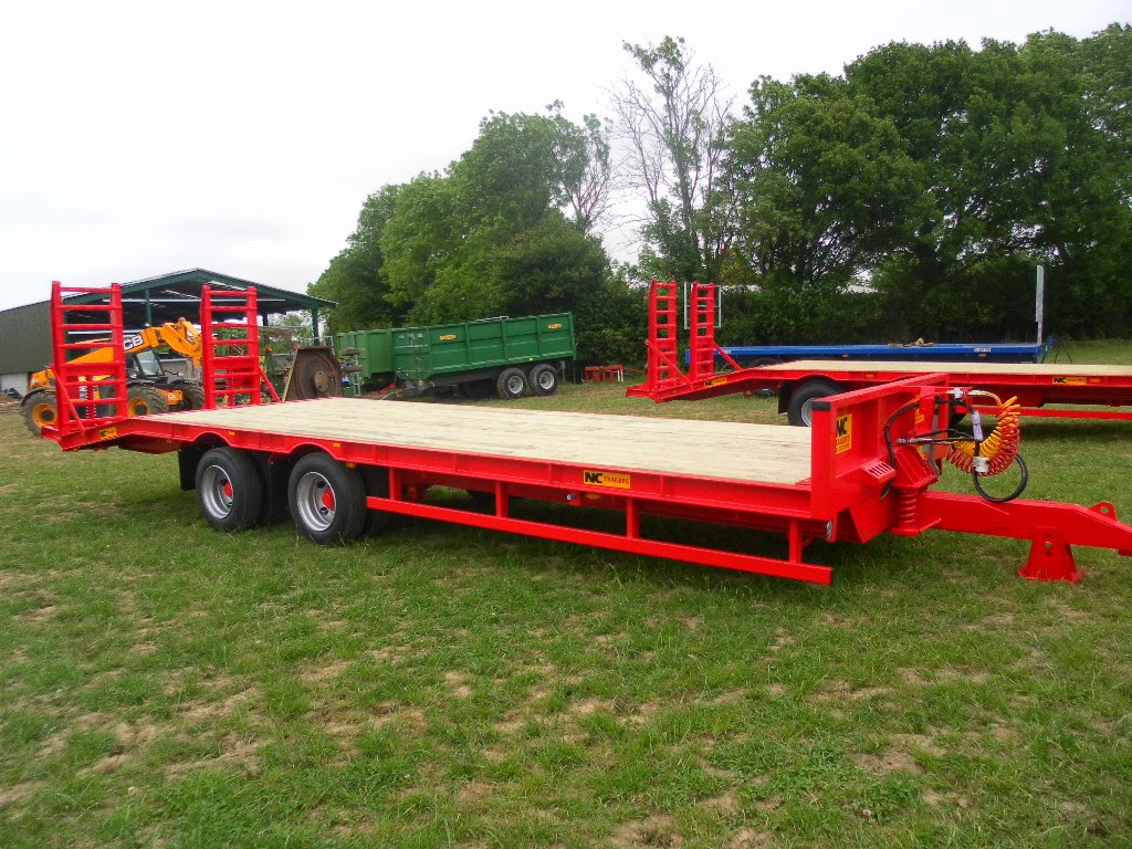 Used Tractor Trailers : Used tractors machinery and plant nc ft low loader trailer
