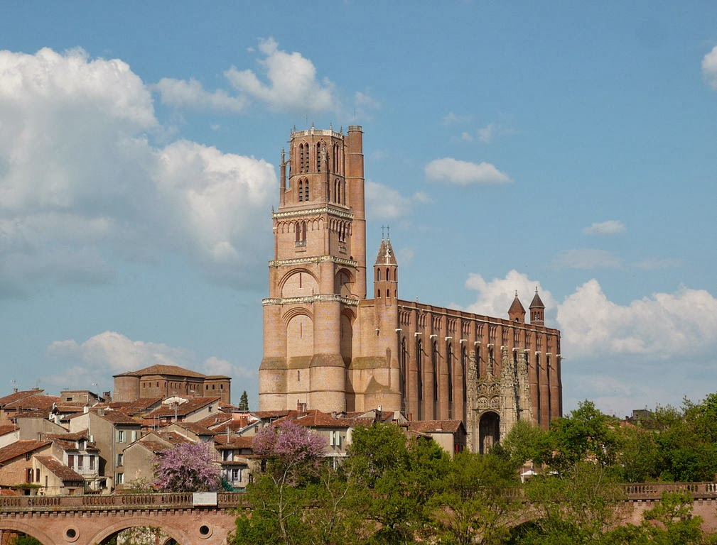 The Saint-Cecile cathedral in Albi
