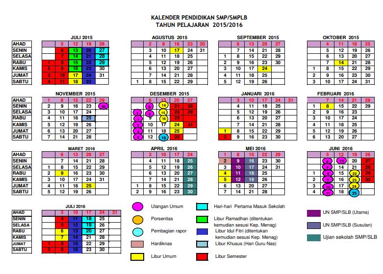 Kelender Pendidikan 2015 2016   Search Results   Calendar 2015